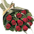 beautiful 12 red roses flowers bouquet